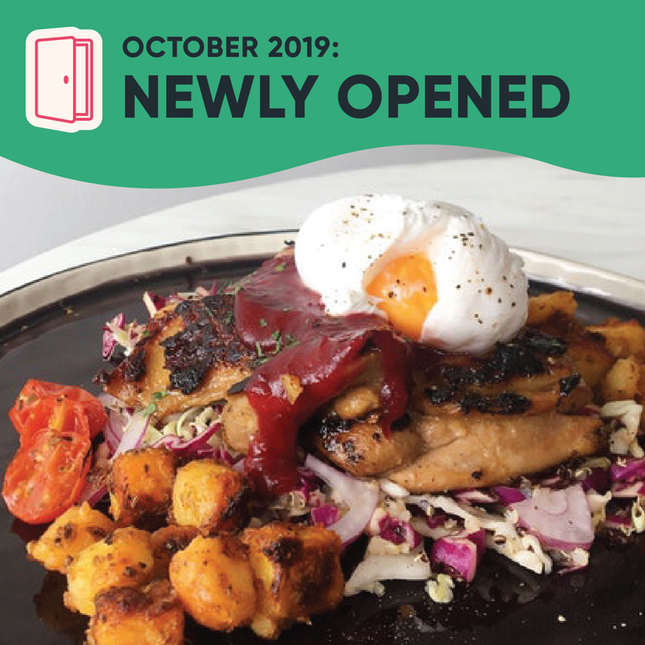 New Restaurants, Cafes and Bars in Kuala Lumpur: October 2019