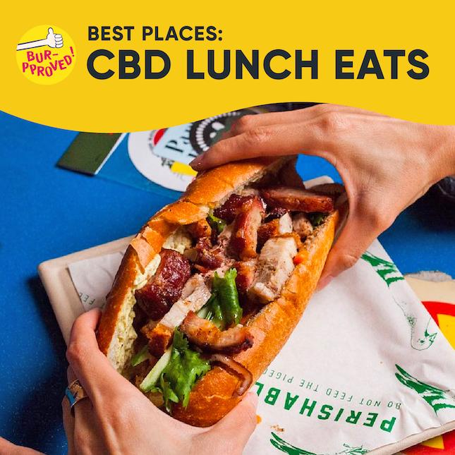 Best CBD Lunch Eats