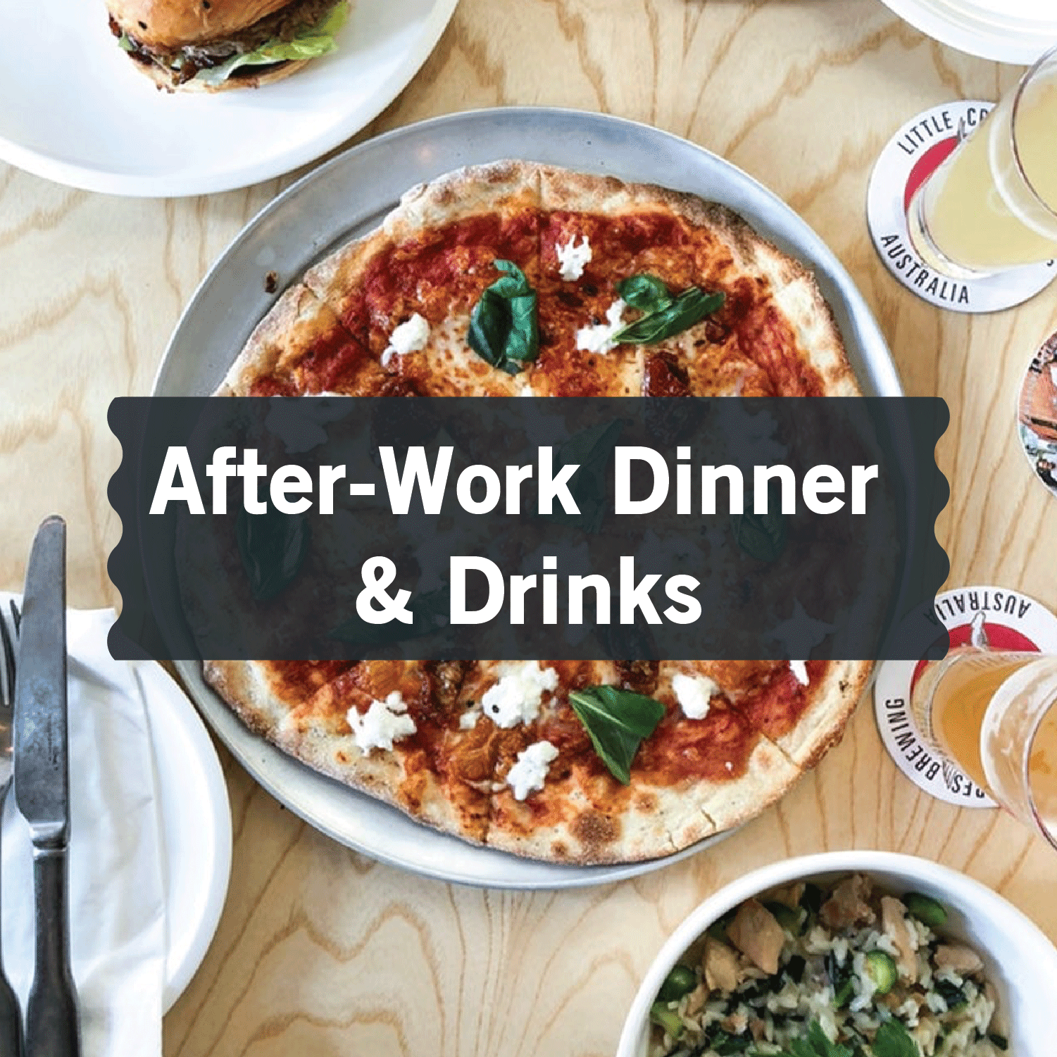 Best Places for After-Work Dinner & Drinks in Singapore