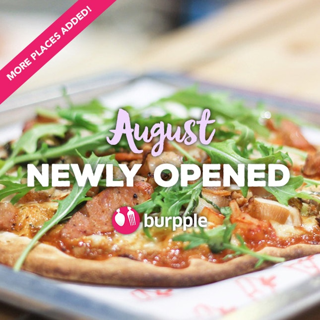 New Restaurants, Cafes And Bars: August 2015