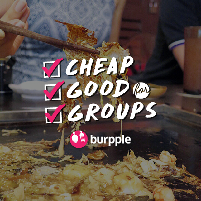 Cheap and Good Food for Groups in Singapore