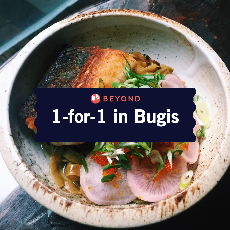 1-for-1 in Bugis