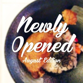 New Restaurants, Cafes And Bars: August 2014
