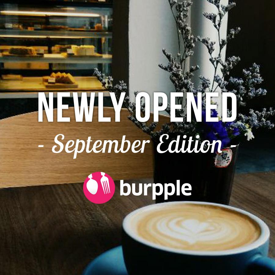 New Restaurants, Cafes And Bars: September 2014