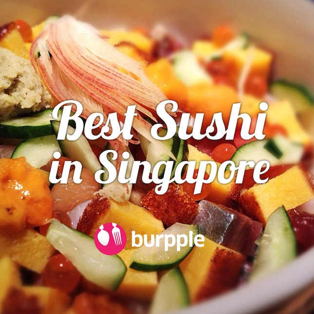 Best japanese food restaurants in singapore 2018 burpple best sushi in singapore forumfinder Image collections