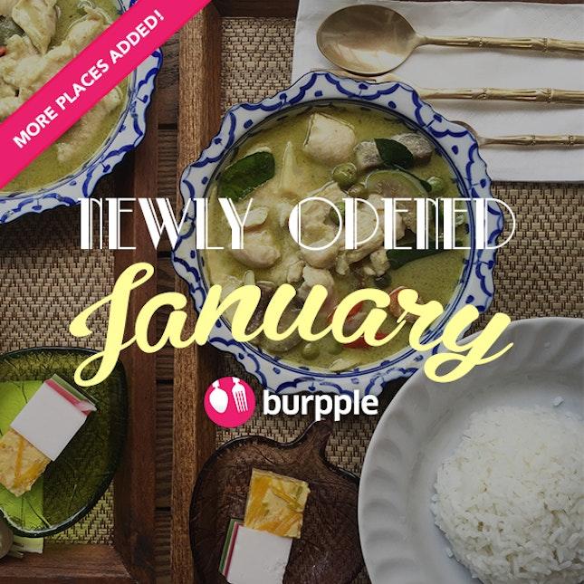 New Restaurants, Cafés And Bars: January 2016