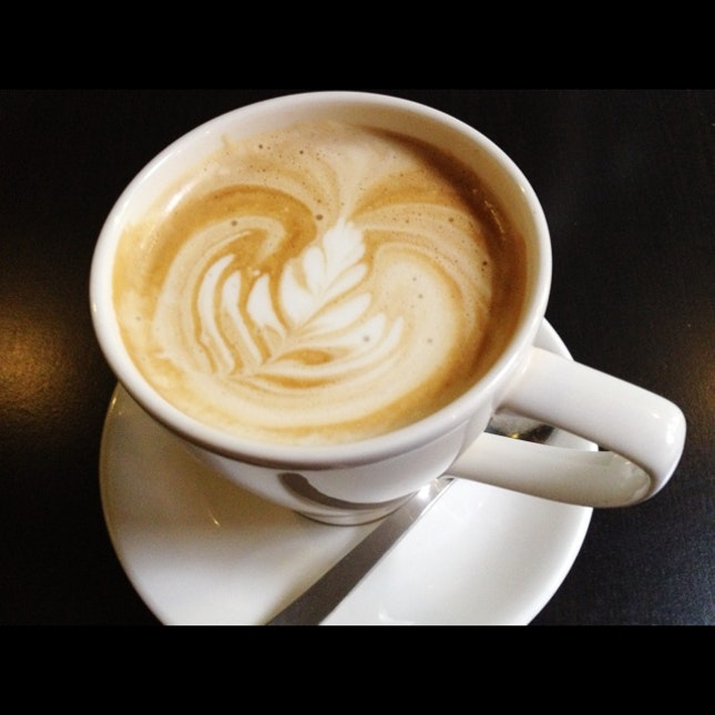 Cappuccino at The Naked Coffee