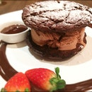 """The 100% Pure Chocolate Chocolate Experience Ice Cream """"Max-Wich"""""""