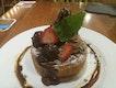 Truffle Chocolate Pancake Creation