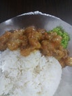 Salted Egg Chicken ($5)