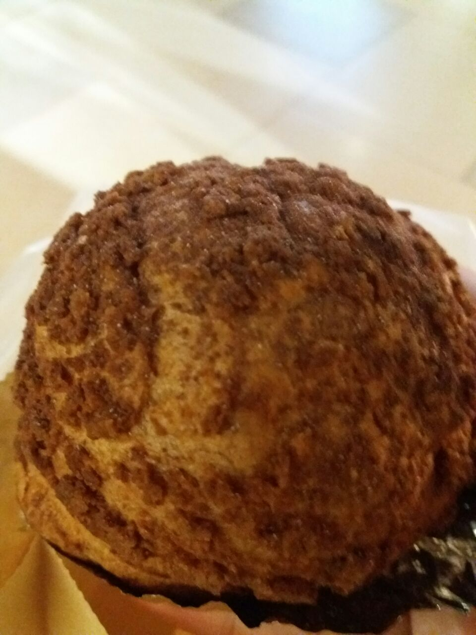 Hazelnut Cream Puff