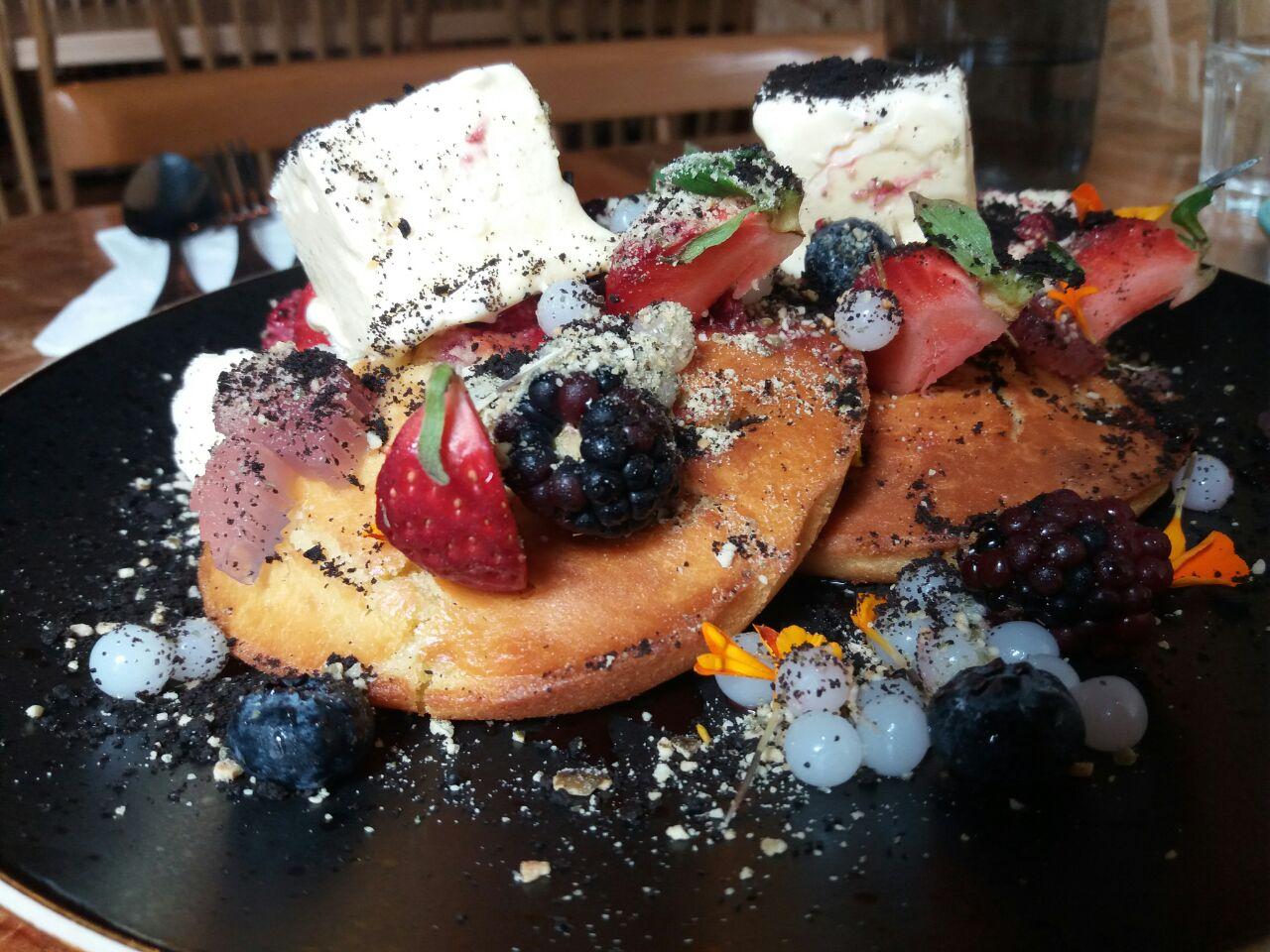 Berry Muffcakes