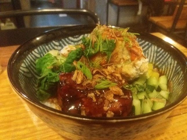 Pork Belly Rice Bowl