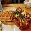 Korean Fried Chicken Waffles ($20)