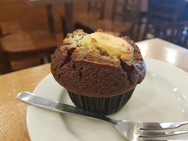 Cream cheese Muffin ($1.8)