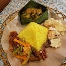 Nasi Kuning ($12.8)