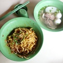 Old School Fish Ball Noodles