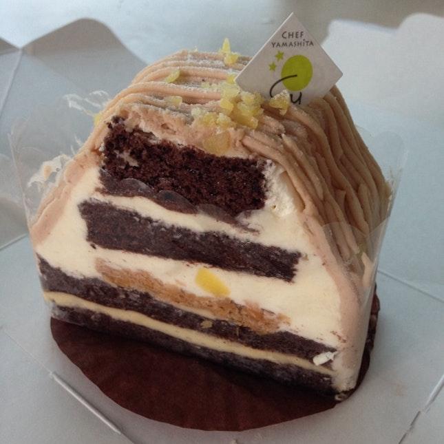 Mount Fuji Cake