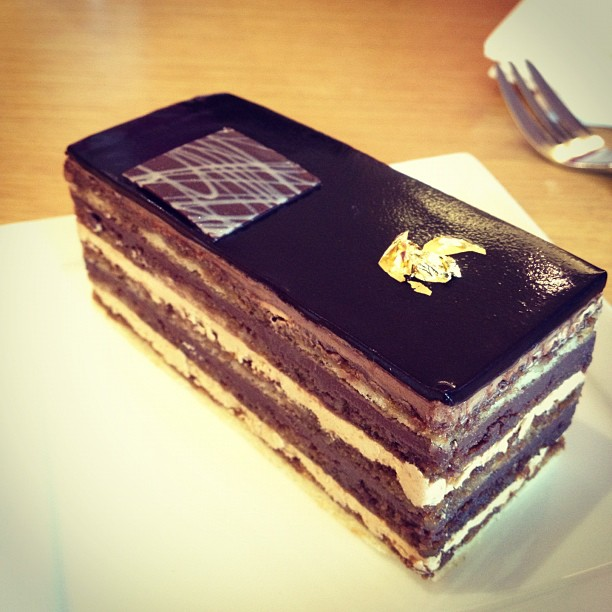 The opera cake.
