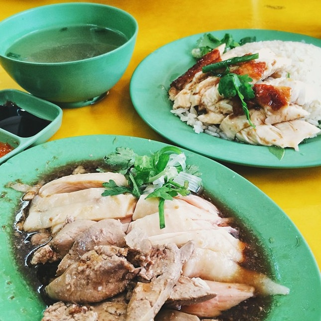 This got to be one of the best chicken rice i have ever tasted!
