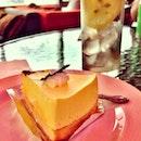 Mango cheesecake 😍❤#love #food #foodgasm #instahub #igdaily #igers #macau #instagood #photooftheday #picoftheday