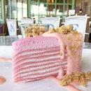 Sakura Mille Crêpe Cake