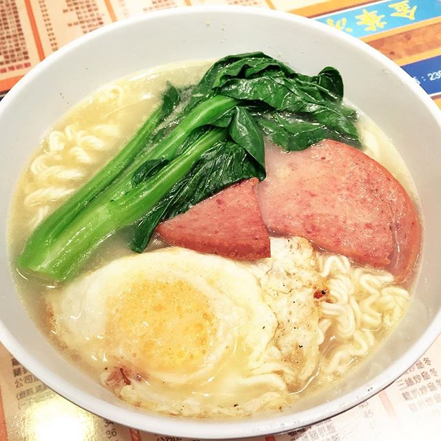 Egg & Luncheon Meat Doll Noodles