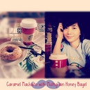 Caramel Macchiato for Breakfast with Multigrain Honey bagel #happiness #inlove #starbucksph #coffee #morning #pretty send from InstaText(Free iPhone/iPad App) #TopRankInstaText#vans#sushi#sunday#instahub#pictureoftheday#like4like#s4s#highschool#ootd#coffee#keepcalm#i