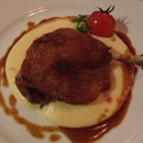 Duck Confit And Truffle Mash