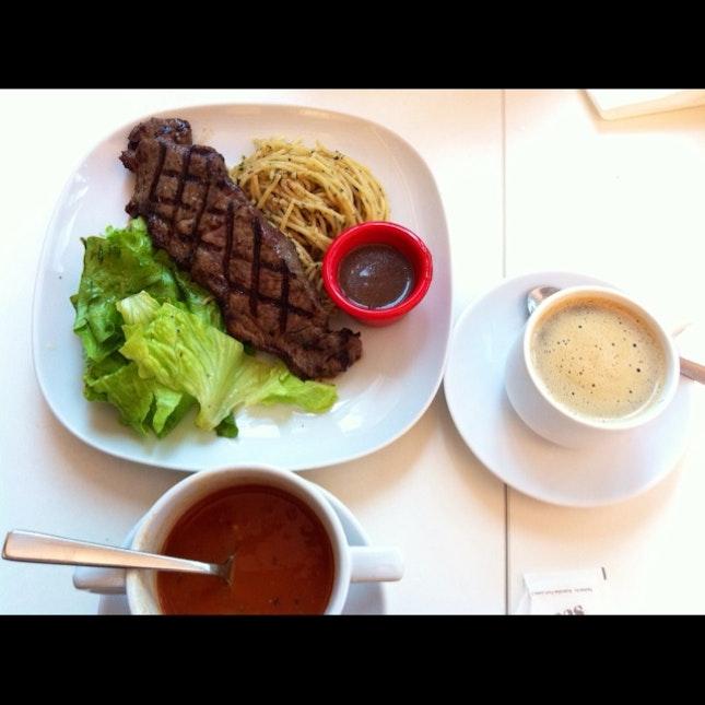 Sirloin Steak Set Meal