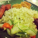 #nasiuduk #nuggets #hotdog #cucumber #sambal #banquet #lunch