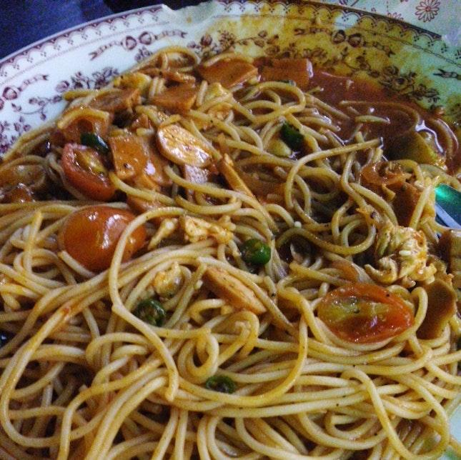 Spaghetti Chili Padi