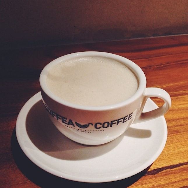 Yesterday coffee time.