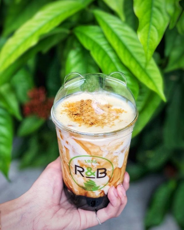 #Mondayblues be gone with a cup of sweet treat from @rbteasg!