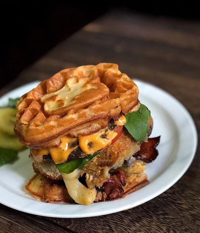 Been toying with the idea of making my version of #Shakeshack's 'Shroom Burger for quite sometime.