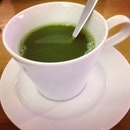 Have you ever seen green tea this green before ?