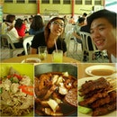 Try all the kuching food - kolo mee, kway chap, laksa and pork satay!