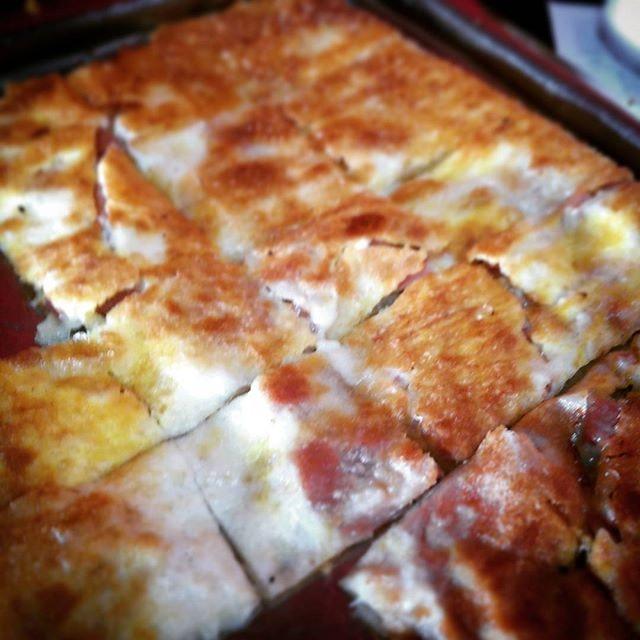 Umami prata: mayo + ham + cheese + floss.