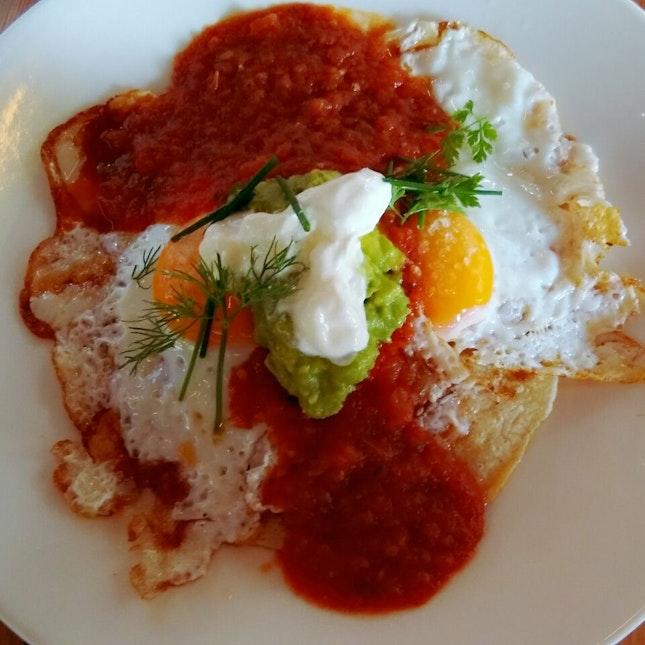 Super Huevos Rancheros - Mexican Breakfast