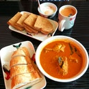 Curry Chicken And Kaya Toast
