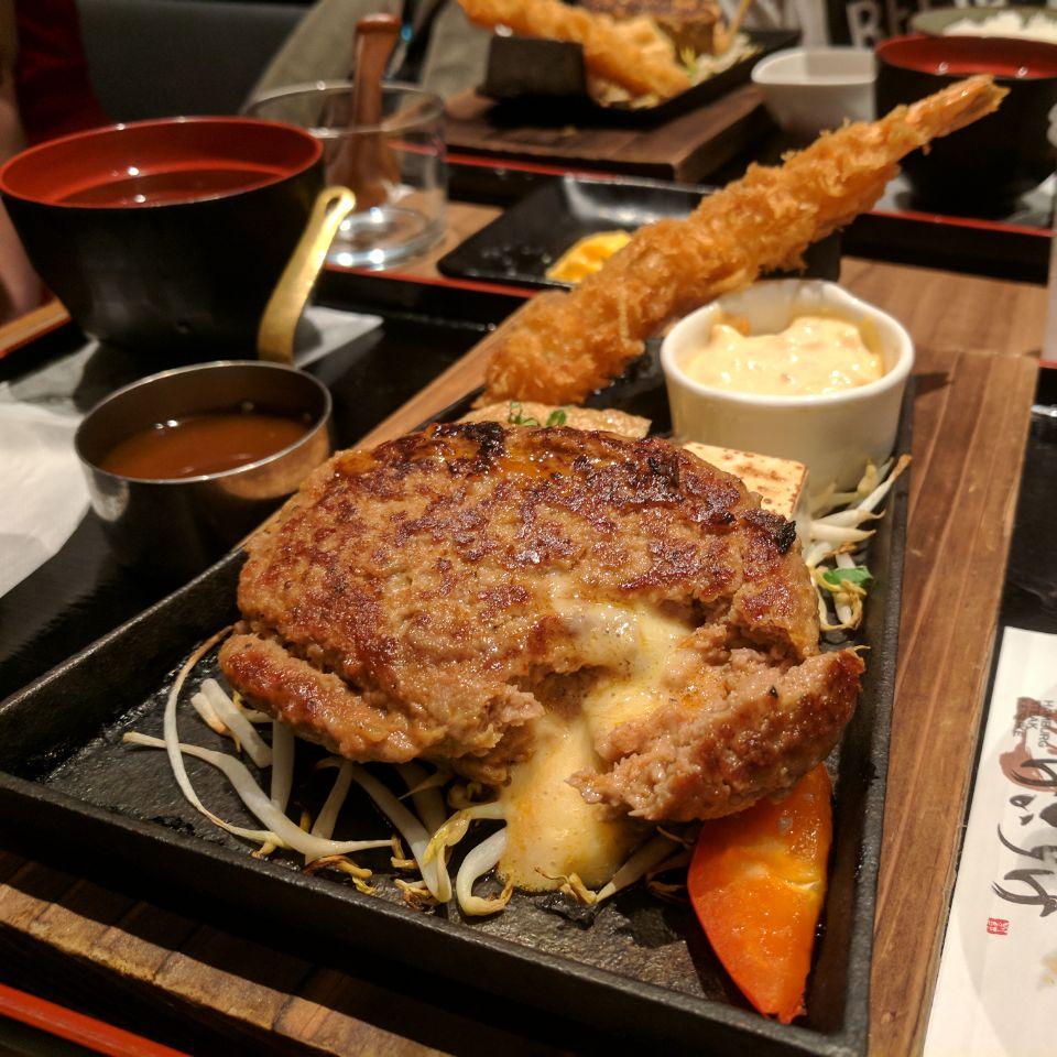 Best And Tender Japanese Style Hamburger Steak