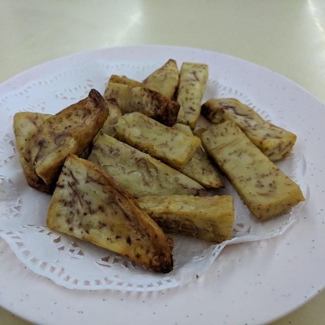 Fried Yam Sticks 炸芋头