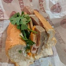 Chicken Ham And Pate Banh Mi Sandwich