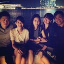 #Esplanade w the group after coy #dinner gathering