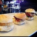 Trio Of Mini Burgers