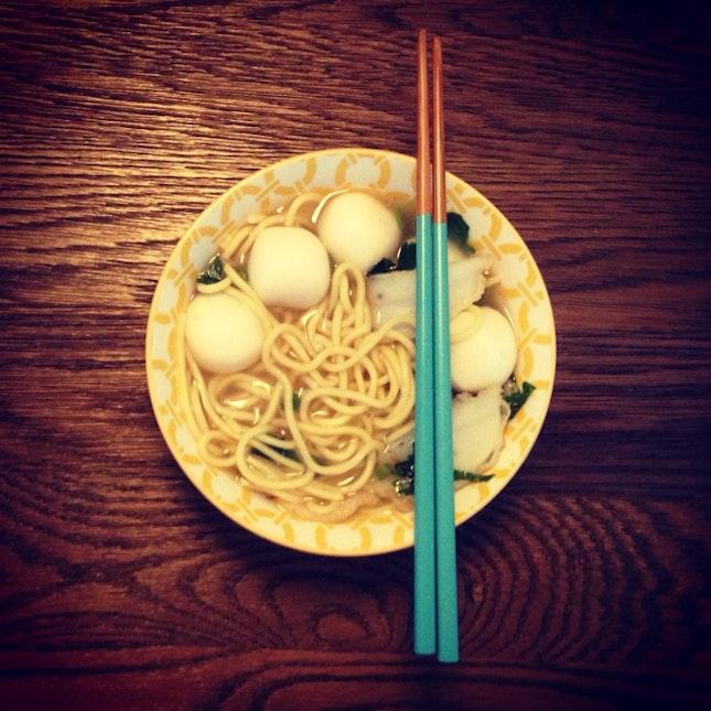 Tapao Fishball Noodles