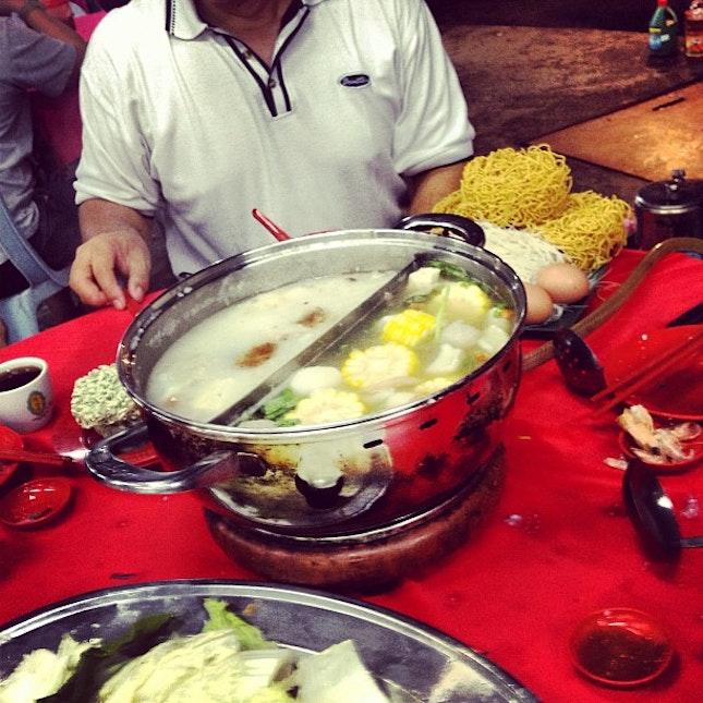 porridge steamboat @michellezyenn #dinner #manjelara #kepong