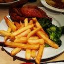 #chicken #fries #broccoli #ikea #food #foodporn #foodwhore #instafood