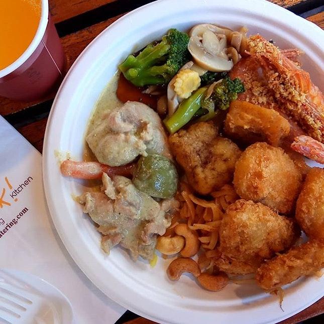 Good friend's baby's one year #birthday #celebration #catering #thaifood #chinesefood #fusion  #8dayseat #burpple #eatoutsg #foodiesg #foodphotography #foodporn #foodpornsg #foodsg #foodstagram #hungrygowhere #igfoodies #instafoodsg #instafood_sg #sgeats #sgfood #sgfoodblogger #sgfoodie #sgfoodies #sgfoodporn #sgfoodunion #singaporefood #whati8today #yahoofood