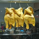 How much are those (yellow-skin) chickens by the window?